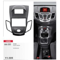 Переходная рамка CARAV 11-305 на FORD Fiesta 2008+ w/display (Black)...