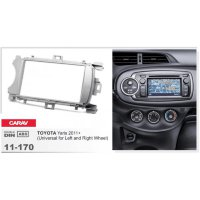 Переходная рамка CARAV 11-170 на TOYOTA Yaris 2011+ (Universal for Lef...