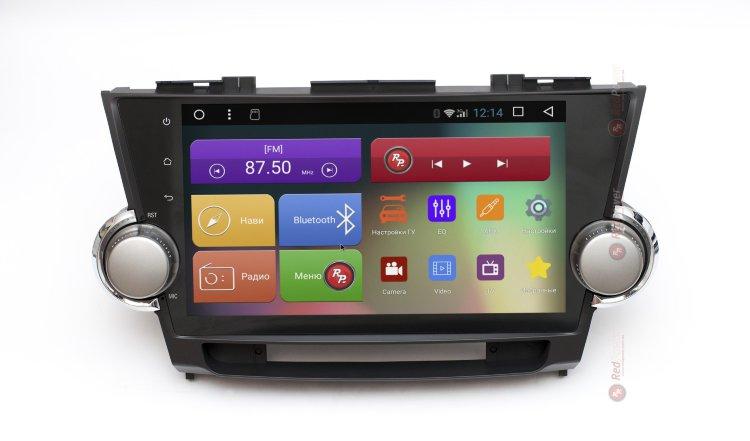 головное устройство на Toyota Highlander отзывы