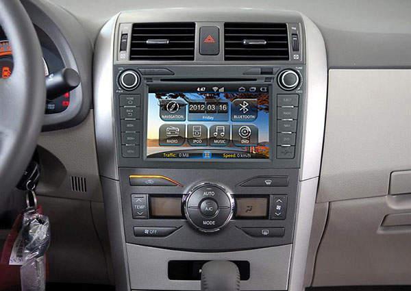 Андроид на Тойота Королла