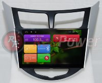 Штатная магнитола Hyundai Accent RB, HB Android 4.4+ CarPad 4 RedPower 21067BIPS