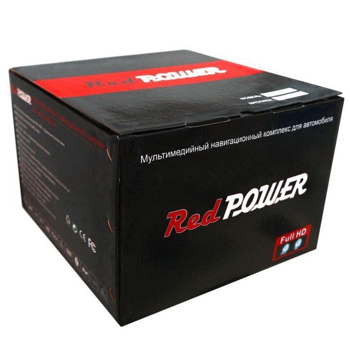 Оригинальная упаковка магнитол Redpower (Редповер)