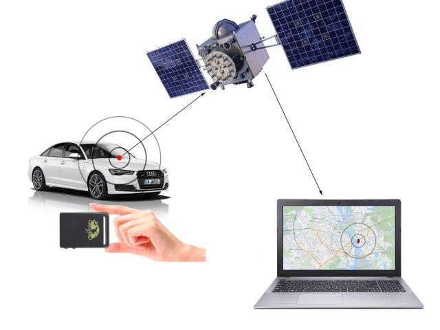 Схема работы трекеров слежения за транспортом ШоМи (ShoMe)